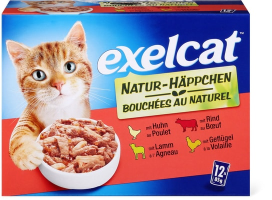 Exelcat Natur-Häppchen multipack