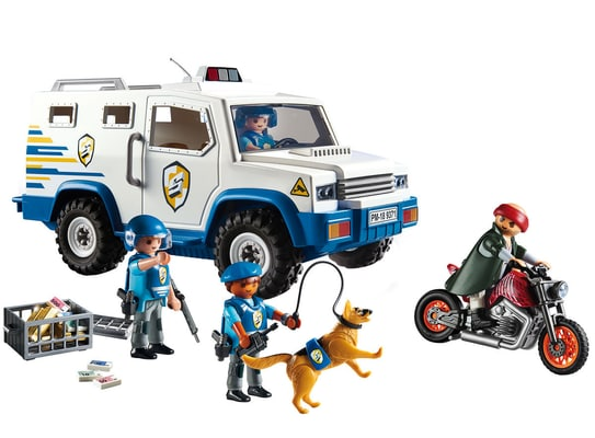 Playmobil Geldtransporter
