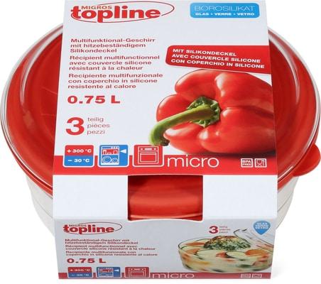 M-Topline MICRO Multifunktional-Geschirr 0.75L
