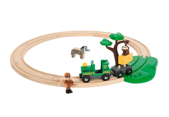 BRIO Set ferrovia safari (FSC)