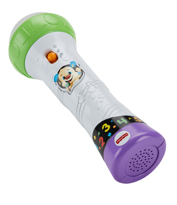 Fisher-Price Lernspass Mikrofon (D) Rollenspiel
