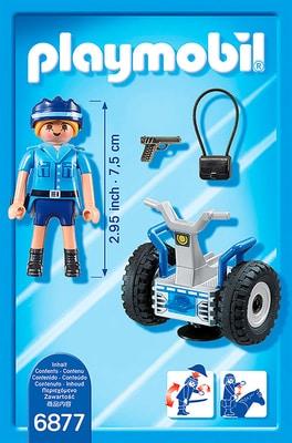 PLAYMOBIL City Action Polizistin mit Balance-Racer 6877