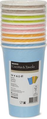 Cucina & Tavola Gobelets en carton Cucina & Tavola, 4,5 dl