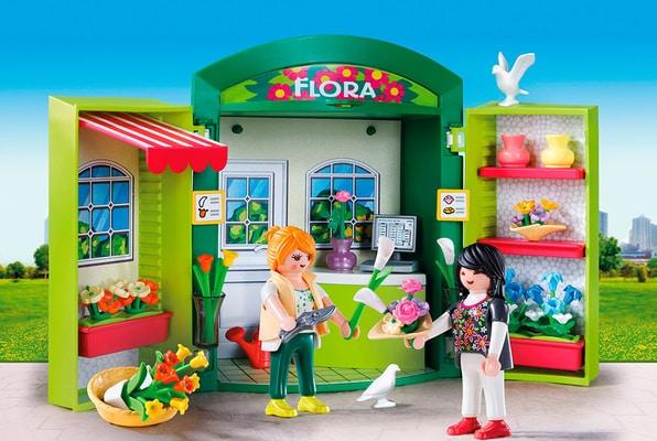 """Playmobil City Life Play Box """"Negozio di Fiori"""" 5639"""