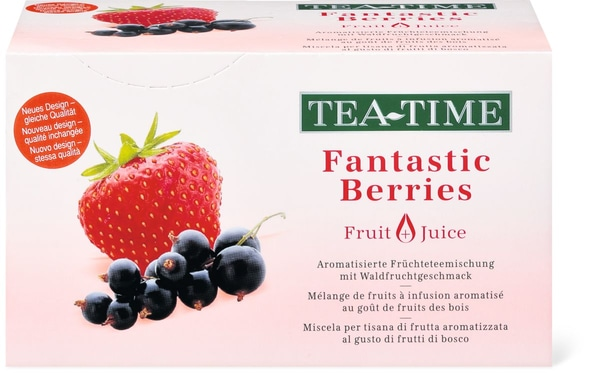 Tea Time Fantastic Berries