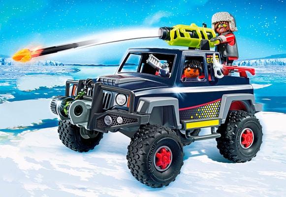 Playmobil Action Predatori con mezzo d'assalto 9059