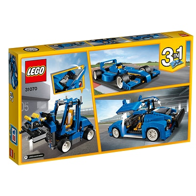 LEGO Creator Le bolide bleu 31070