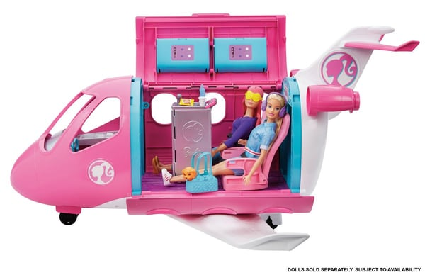 L'avion de rêve de Barbie