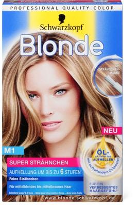 Schwarzkopf Blonde M1 Strähnchen