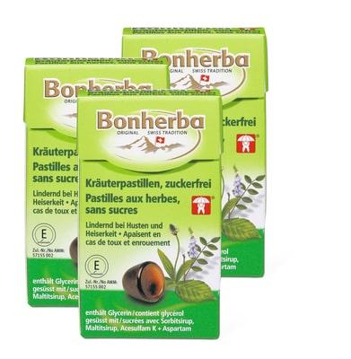 Bonherba Kräuterpastille ohne Zucker