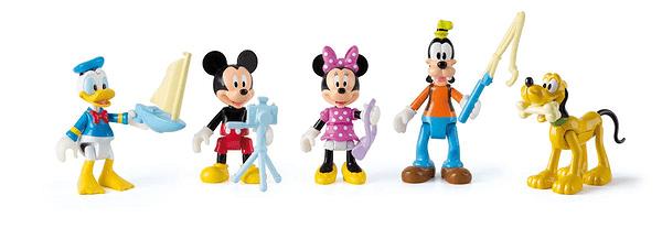 Mickey and the roads Figuren 5er Pack Ass