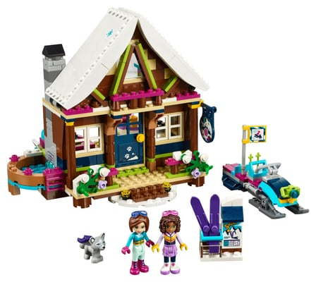 Lego Friends Chalet im Wintersportort 41323
