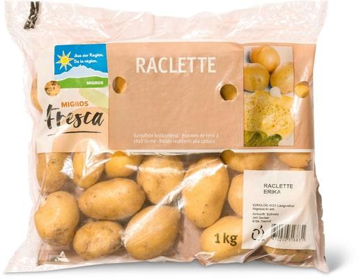 Pommes de terres raclette