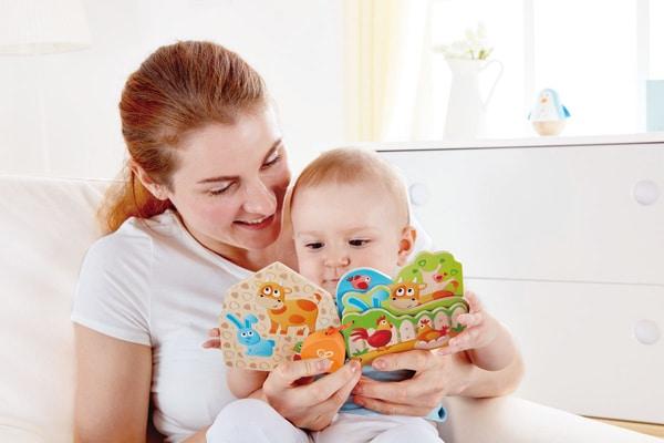 """Hape Baby-Buch """"Tiere Auf Dem Bauernhof"""" Lernspiel"""