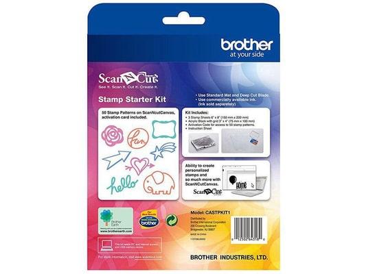 Brother Accessoires pour tampon ScanNCut kit de démarrage