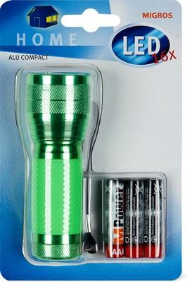 LED Alu Taschenlampe