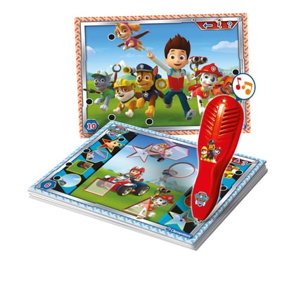 Paw Patrol quizzy stylo interactiv (IT)