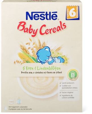 Nestlé Baby Cereals Premium 5 Korn & Lindenblüten