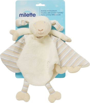 Milette Activity-Schmusetuch