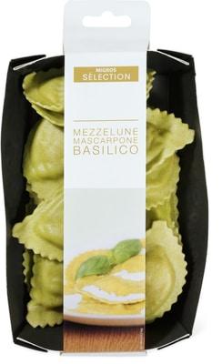Sélection Mezzelune mascarpone basilico