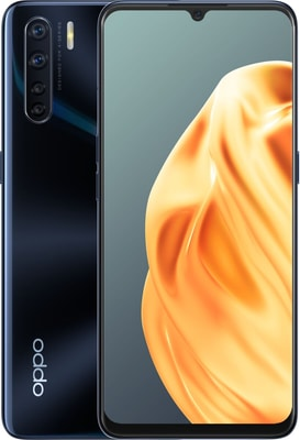 Oppo A91 Lightening Black Smartphone