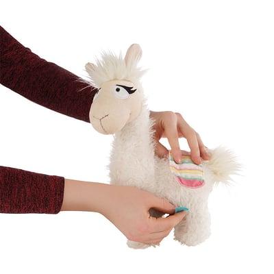 Peluche Nici Lama Dalia Avec Tricote