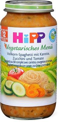 HiPP Vollkorn-Spaghetti mit Karotte, Zucchini und Tomate