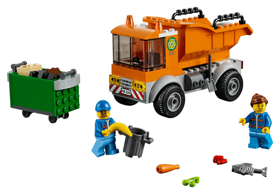 LEGO City 60220 Le camion de pou