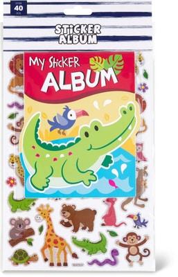 Stickers mit Album