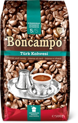 Boncampo Türk Kahvesi, macinato