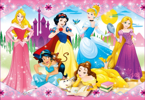 Disney Princess 104 Teile Puzzle