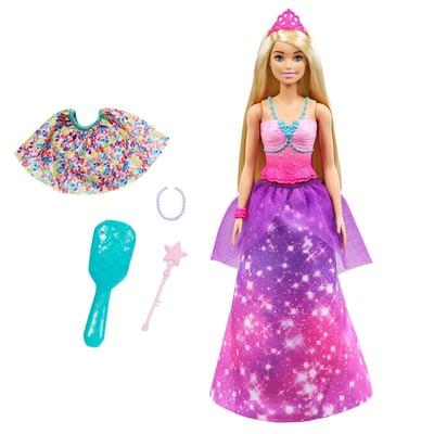 Barbie GTF92 Dreamtopia 2-in-1 Puppe