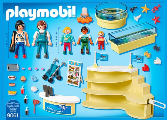Playmobil Family Fun Aquarium-Shop 9061