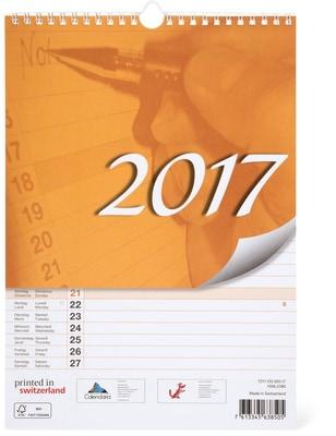 Monatsplaner A4 2017