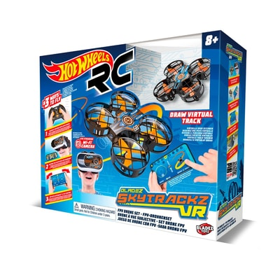 Hot Wheels Cyber Drohne Rennset