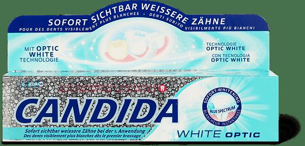 Candida dentifricio White Optic
