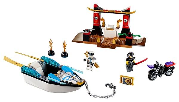 Lego Juniors 10755 Zane E Della Barca