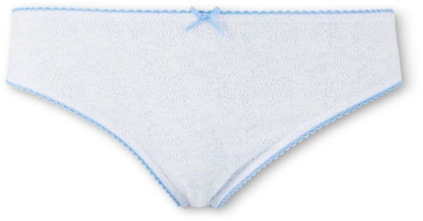 Damen Slip Mini blau