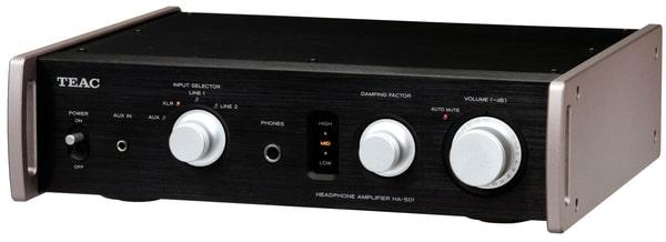TEAC HA-501-B - Schwarz Kopfhörerverstärker