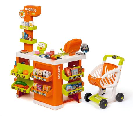 Smoby Supermercato con Carrello Giochi di ruolo