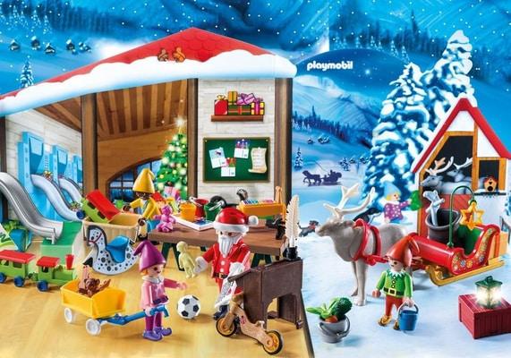 """Playmobil Christmas Adventskalender """"Wichtelwerkstatt"""" 9264"""