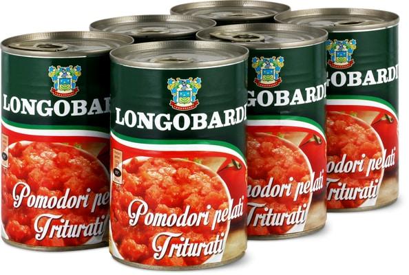 Tomates concassées Longobardi