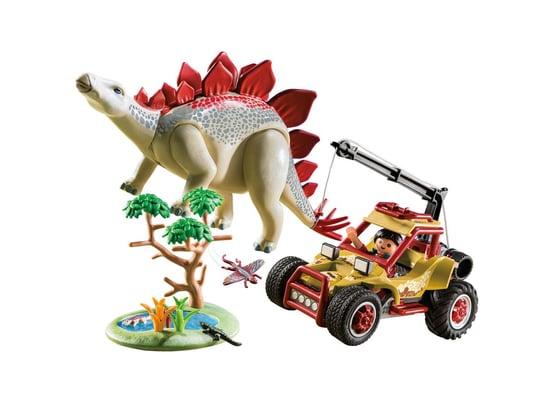 Playmobil Véhicule et stégosaure 9432