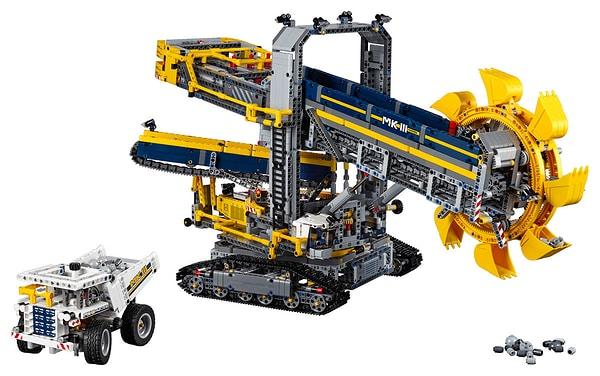 Lego Technic La pelleteuse à godets 42055