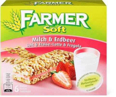 Farmer Soft Milch Erdbeer