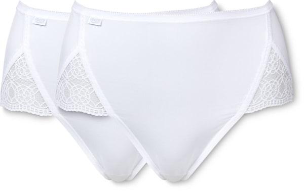 Sloggi Slip Maxi da Donna Pure Sense Luxe bianco