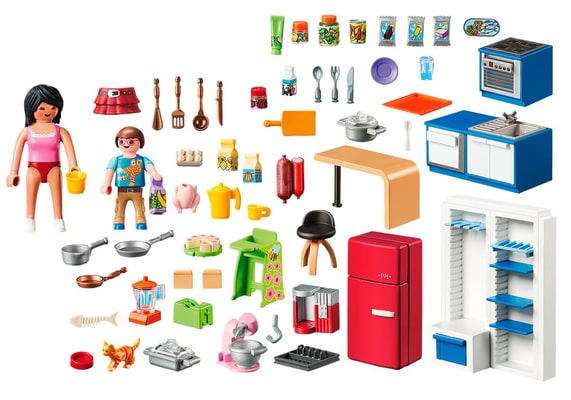 PLAYMOBIL® 70206 Cuisine familiale