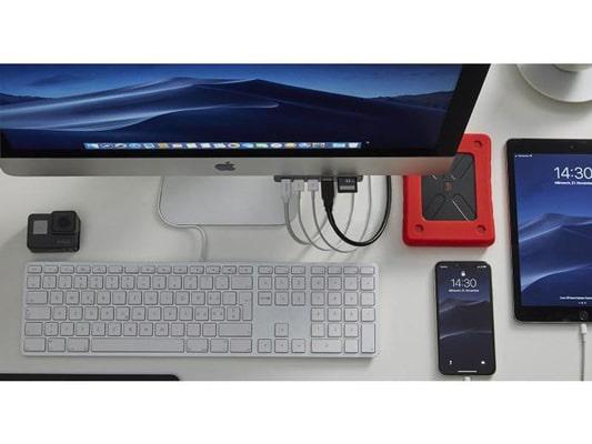 LMP USB-Hub USB-C Attach Adapter
