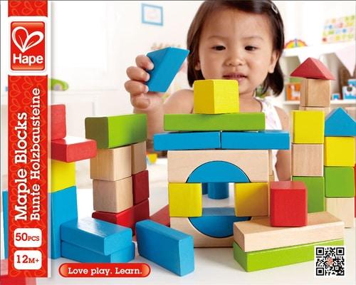 Hape 50 pezzi Set di giocattoli