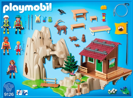 Playmobil Action Rifugio degli scalatori 9126
